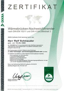 Wärmebrücken-Nachweisführender